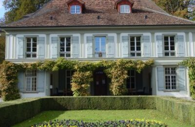 Die Musikschule Region Thun ist heute in der ehemaligen Villa «Gwatt» eingemietet.  Foto: msrthun.ch